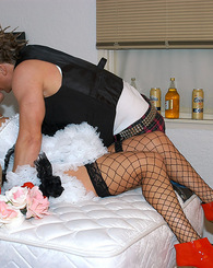 Punk rock Sienna West fucks like a rock star on her wedding night.