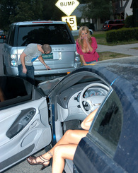 Kelly Madison makes Morgan Ray work off some car damage in the bedroom.