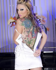 The absolutely stunning features of Jesse Cappeli cannot be matched. She has the whole package a firey personality, tight ass, silky legs and a great