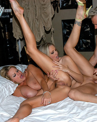 Kelly's dreams come true and she gets a night with Julia Ann and her husband!